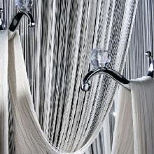 Нитяные шторы кисея - рис.1