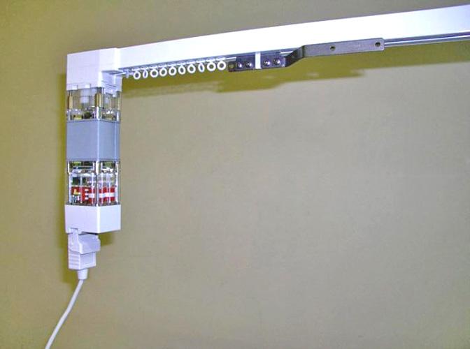 Электропривод шторами своими руками 636
