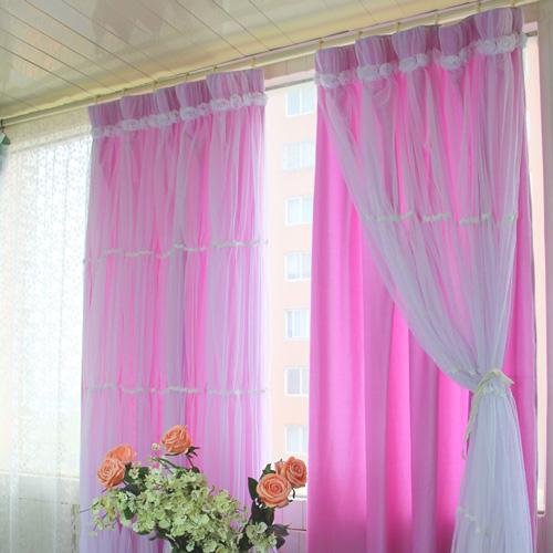Рис 22 – 24 двойные шторы для спальни