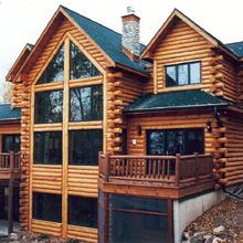 Современные деревянные дома и их интерьеры - рис.1