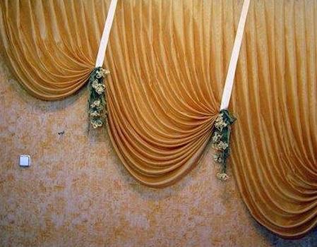Императорские шторы своими руками