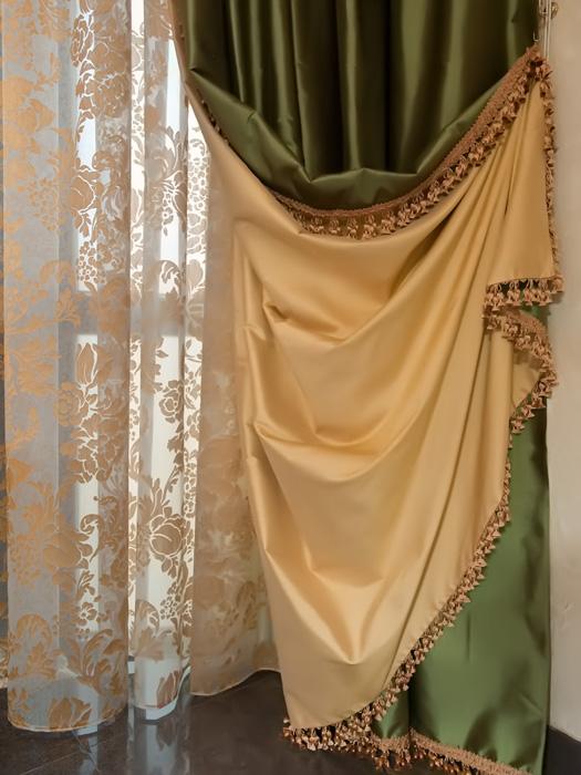 Как сшить шторы на подкладке своими руками мастер класс