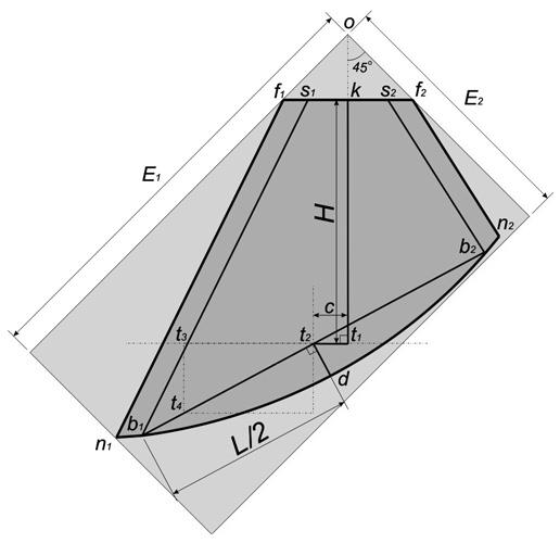 Выкройка асимметричного свага своими руками 11