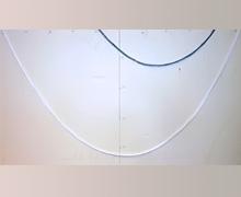 Способ замера длины провиса складок перекида