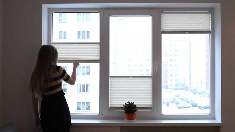 Шторки на пластиковые окна своими руками видео