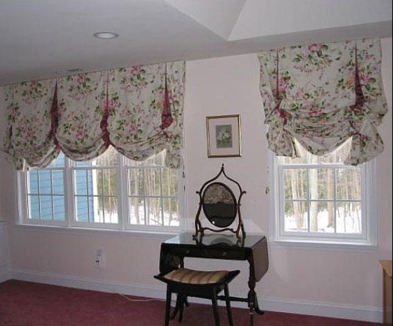 шторы фото в стиле прованс